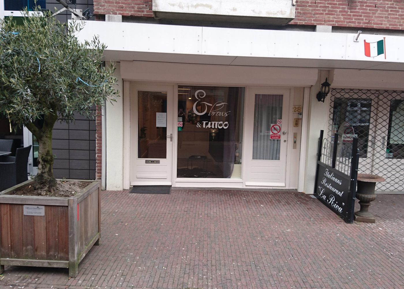 Voorgevel Ebrows&Tattoo Veghel permanente make up & Tattoo phibrows